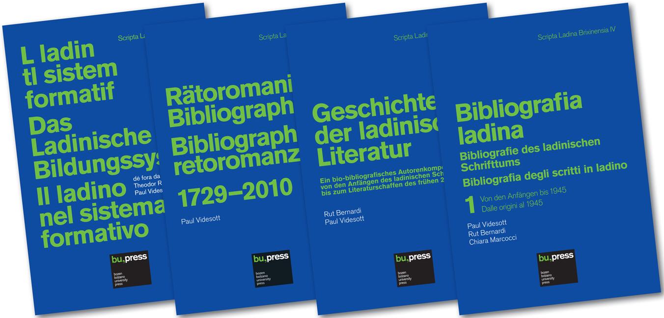 Cover of Scripta Ladina Brixinensia