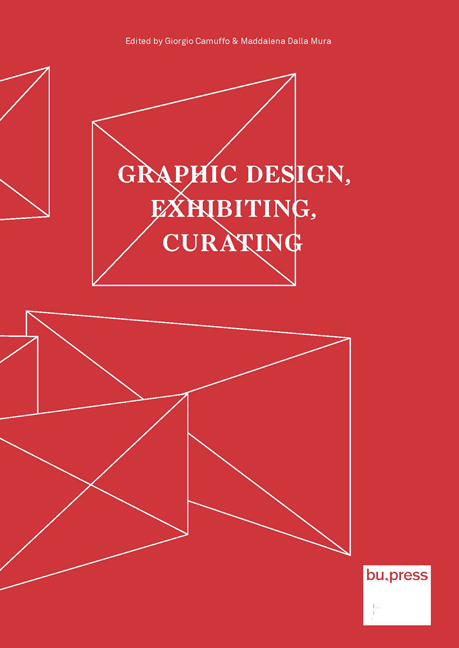 Cover of Graphic Design, Exhibiting, Curating