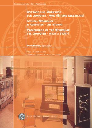 Cover of Beiträge zum Workshop Der Computer - was für eine Geschichte!