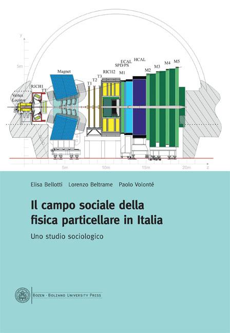 Cover of Il campo sociale della fisica particellare in Italia