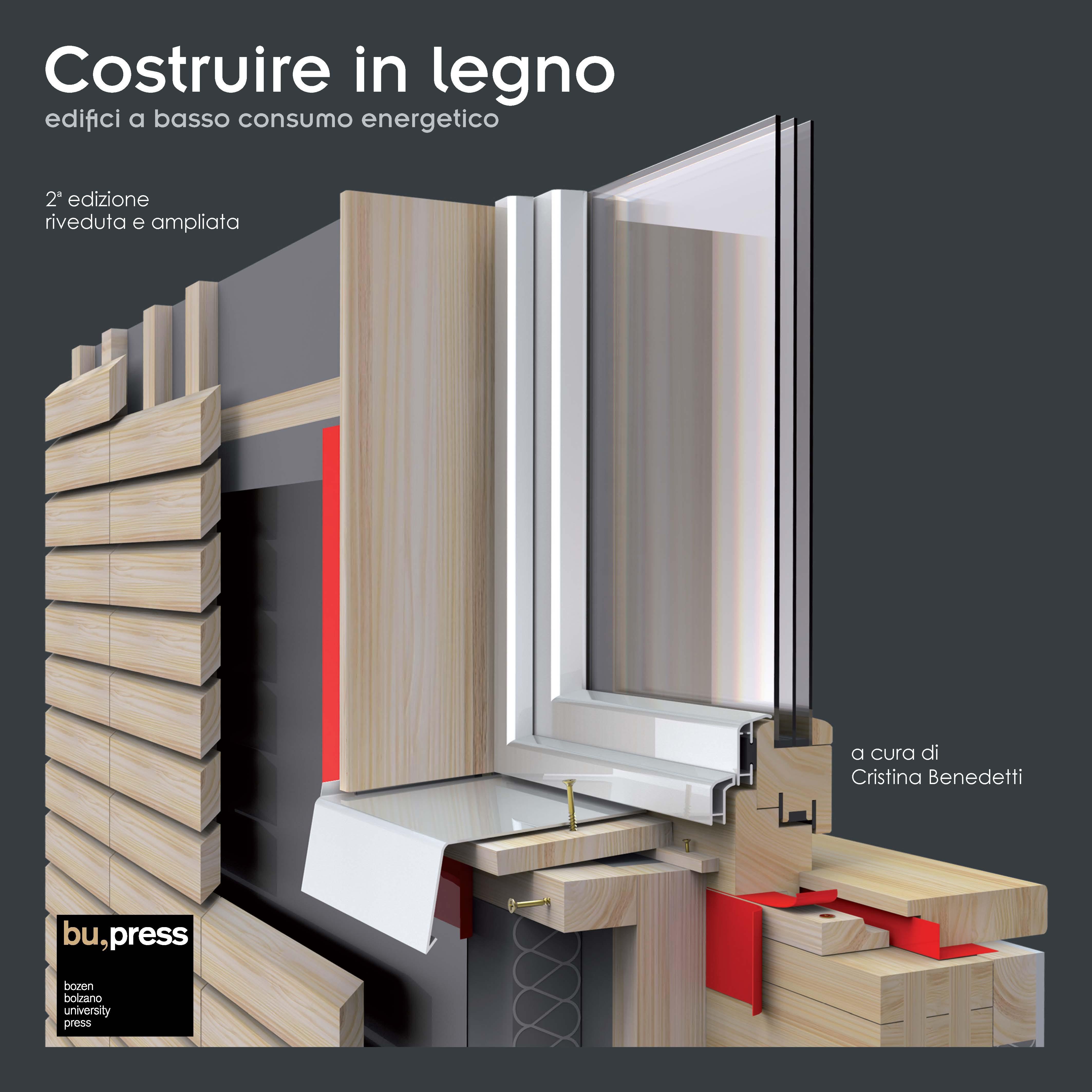 Cover of Costruire in legno