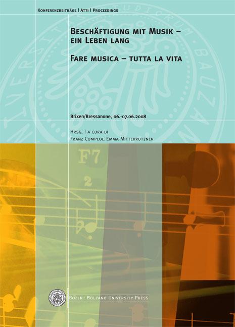 Cover of Beschäftigung mit Musik - ein Leben lang