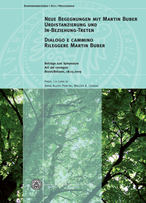 Cover of Neue Begegnungen mit Martin Buber