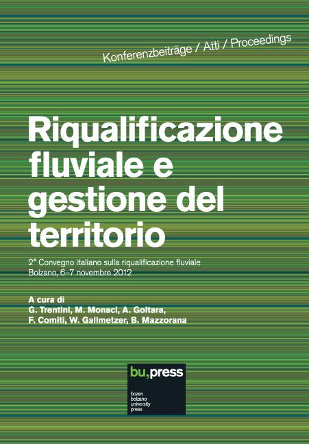 Cover of Riqualificazione fluviale e gestione del territorio