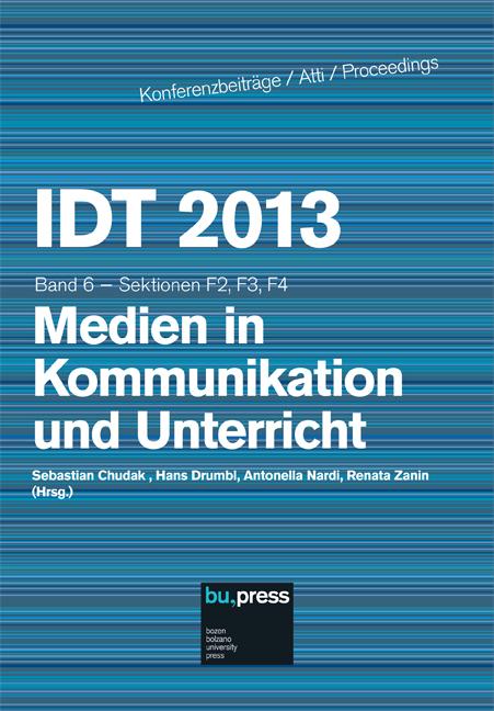 Cover of IDT 2013/6 Medien in Kommunikation und Unterricht