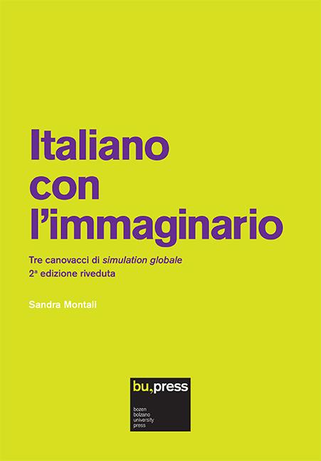 Cover of Italiano con l'immaginario