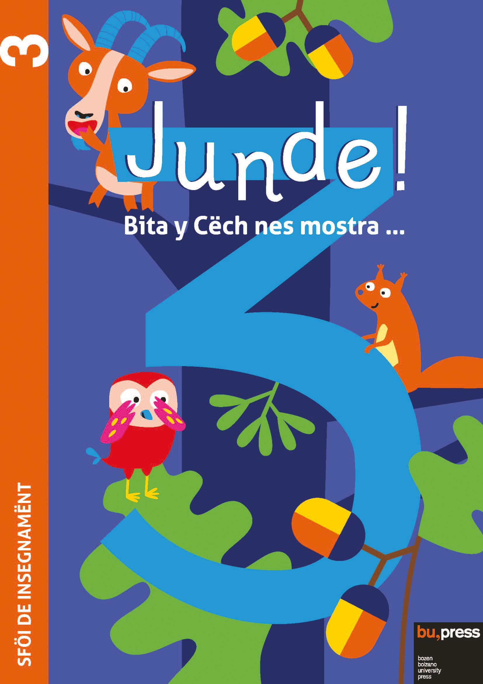 Cover of Junde! 3 – Sföi de insegnamënt
