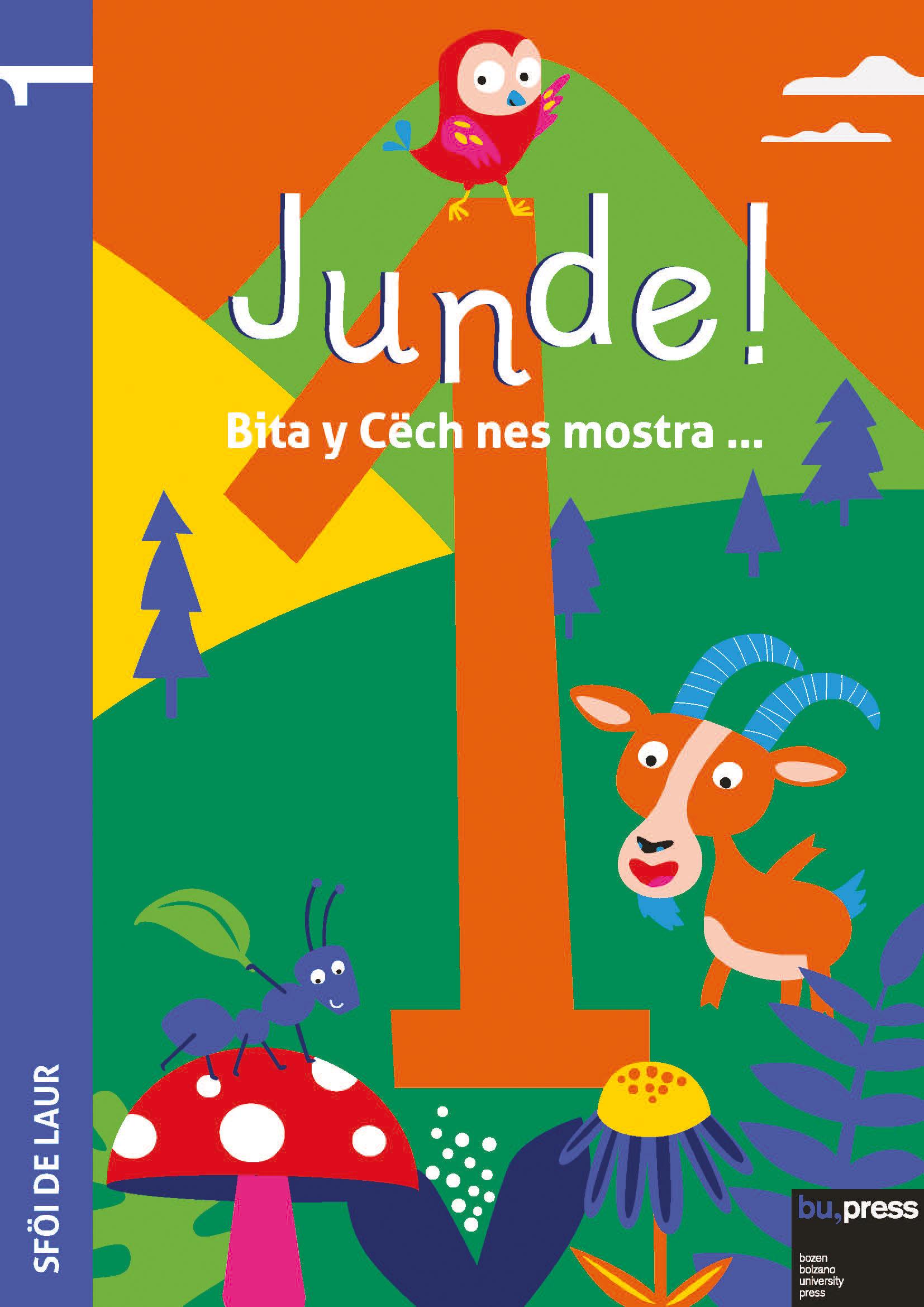 Cover of Junde! 1 – Sföi de laur