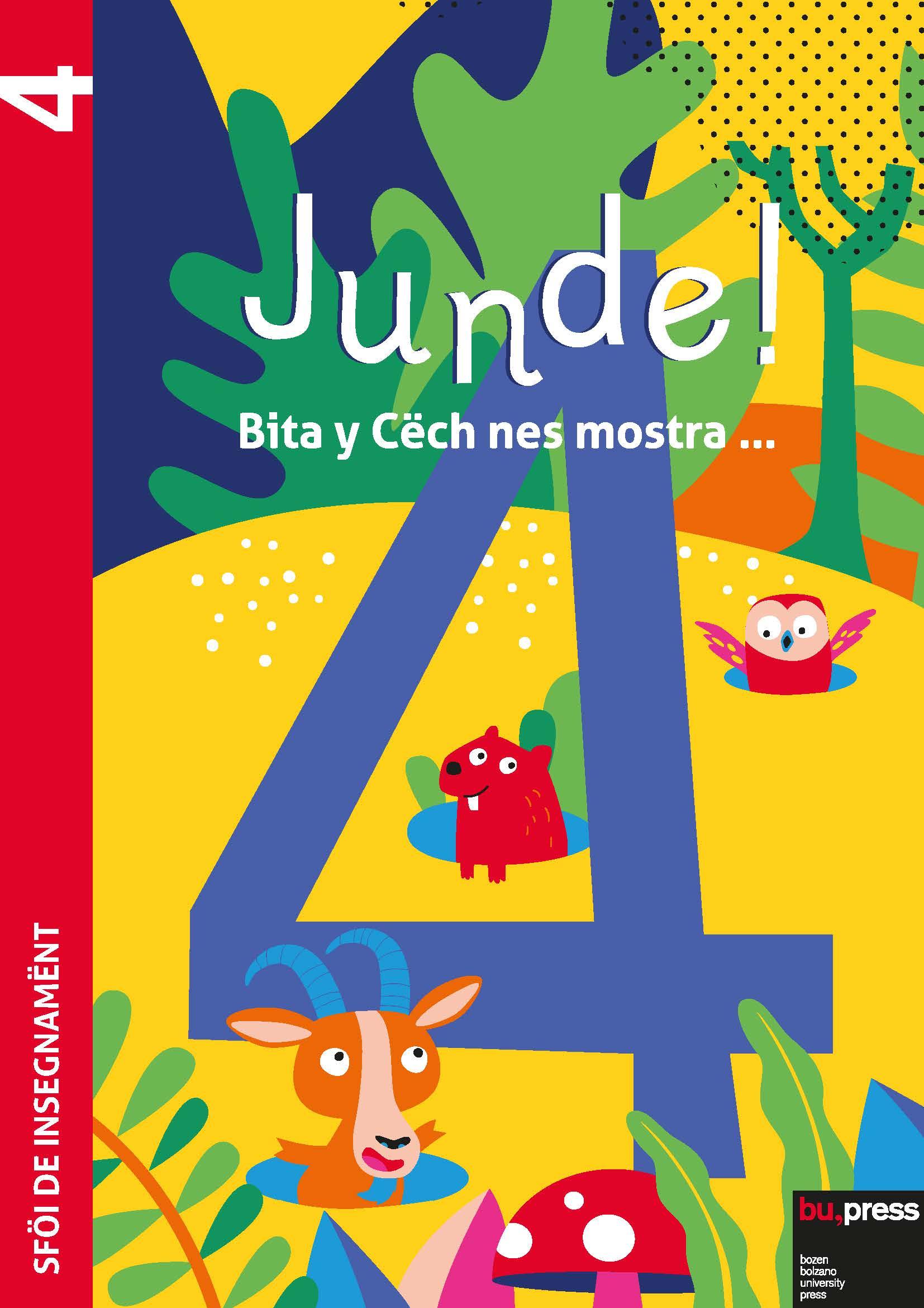 Cover of Junde! 4 – Sföi de insegnamënt
