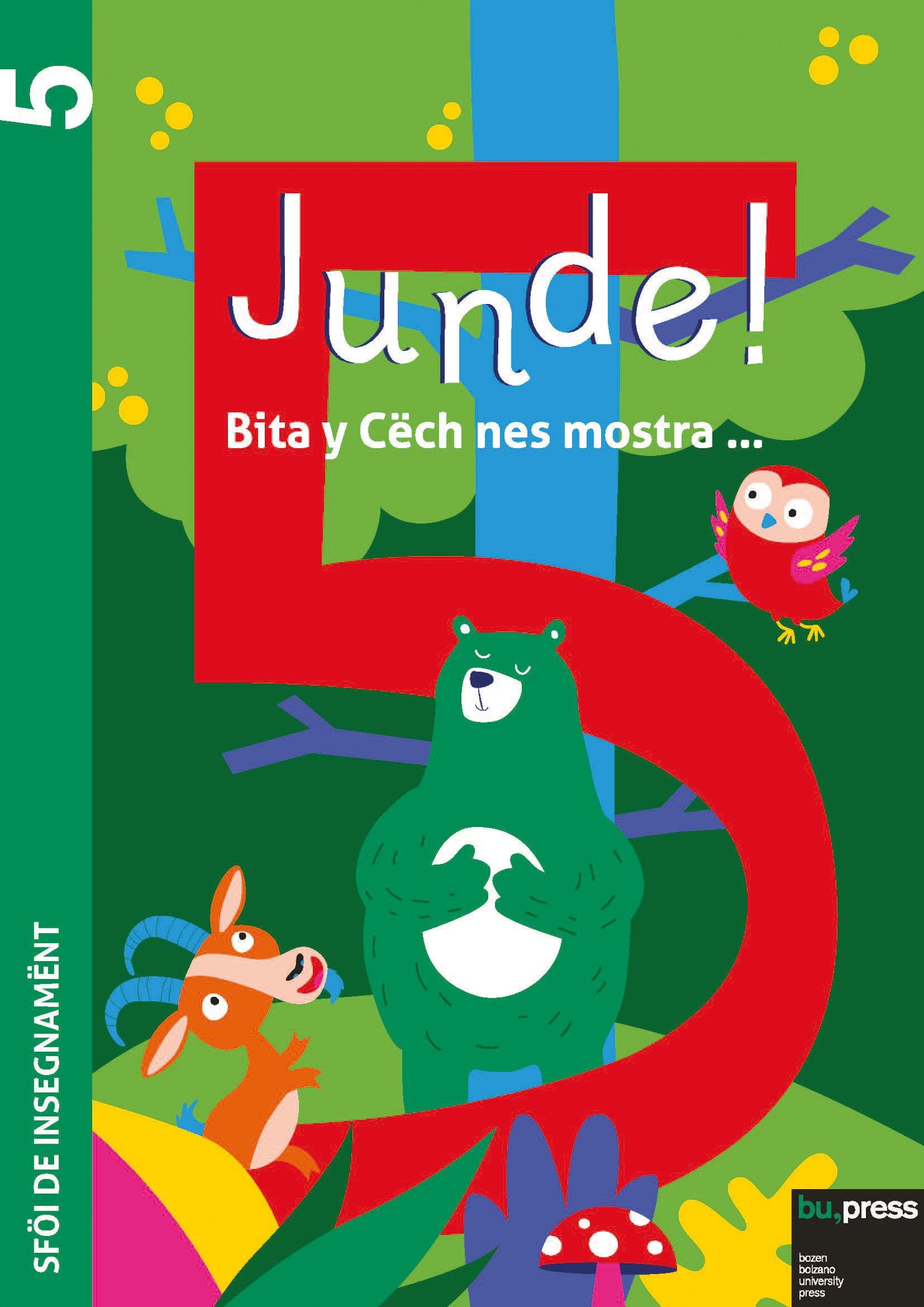 Cover of Junde! 5 – Sföi de insegnamënt