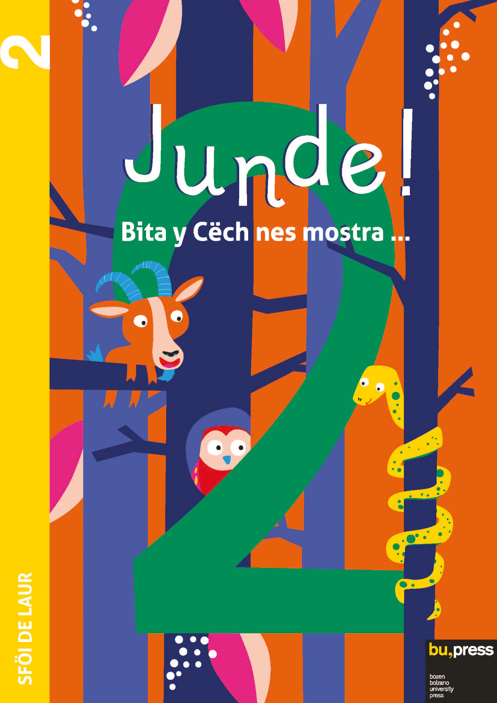 Cover of Junde! 2 – Sföi de laur