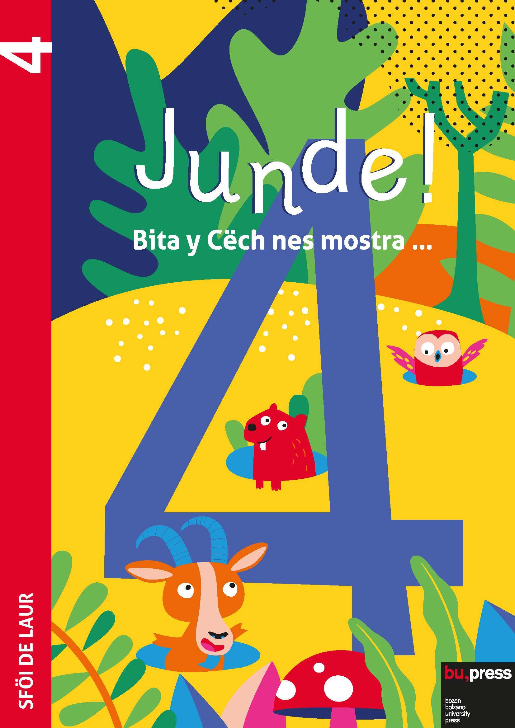 Cover of Junde! 4 – Sföi de laur