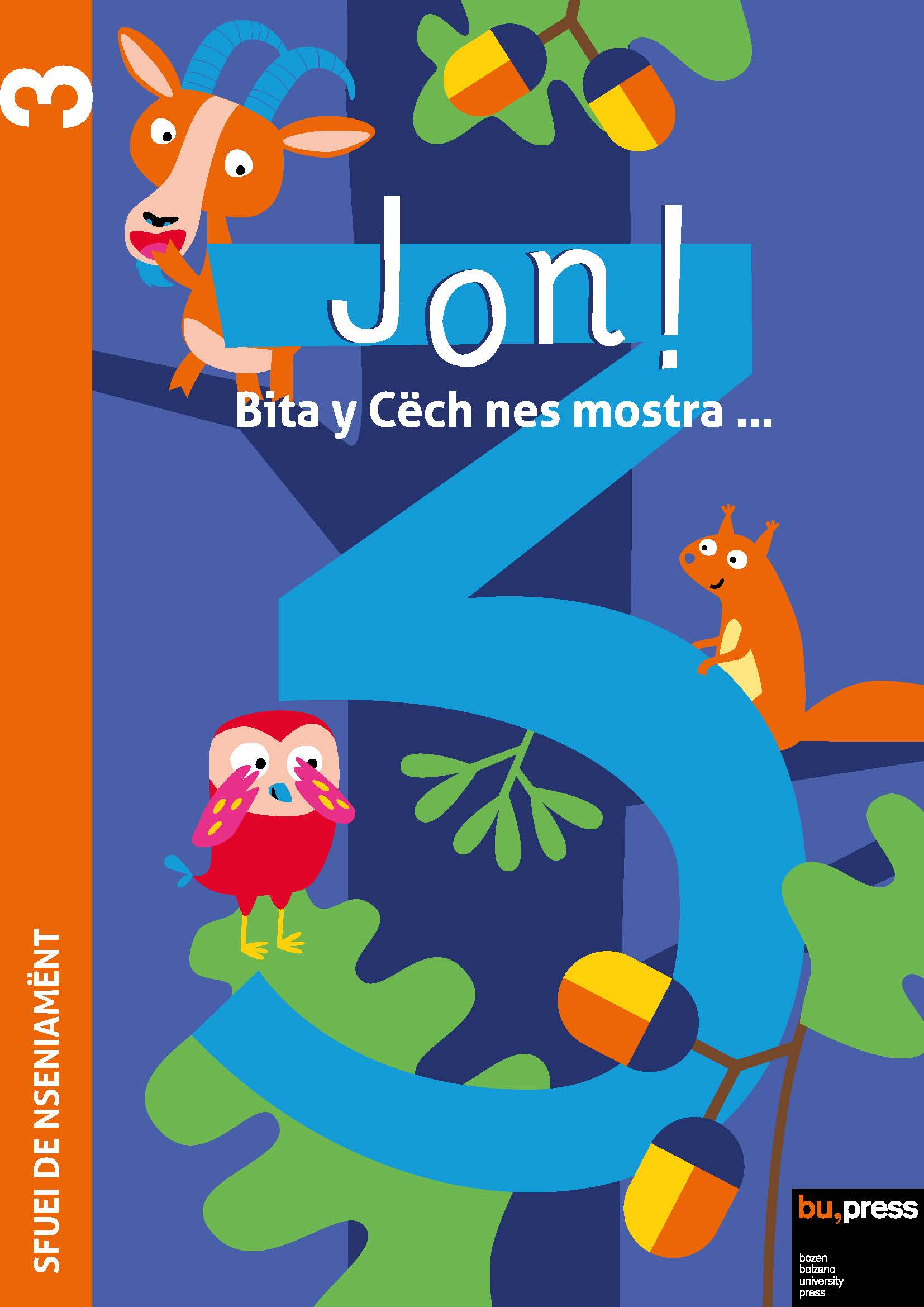 Cover of Jon! 3 – Sfuei de nseniamënt