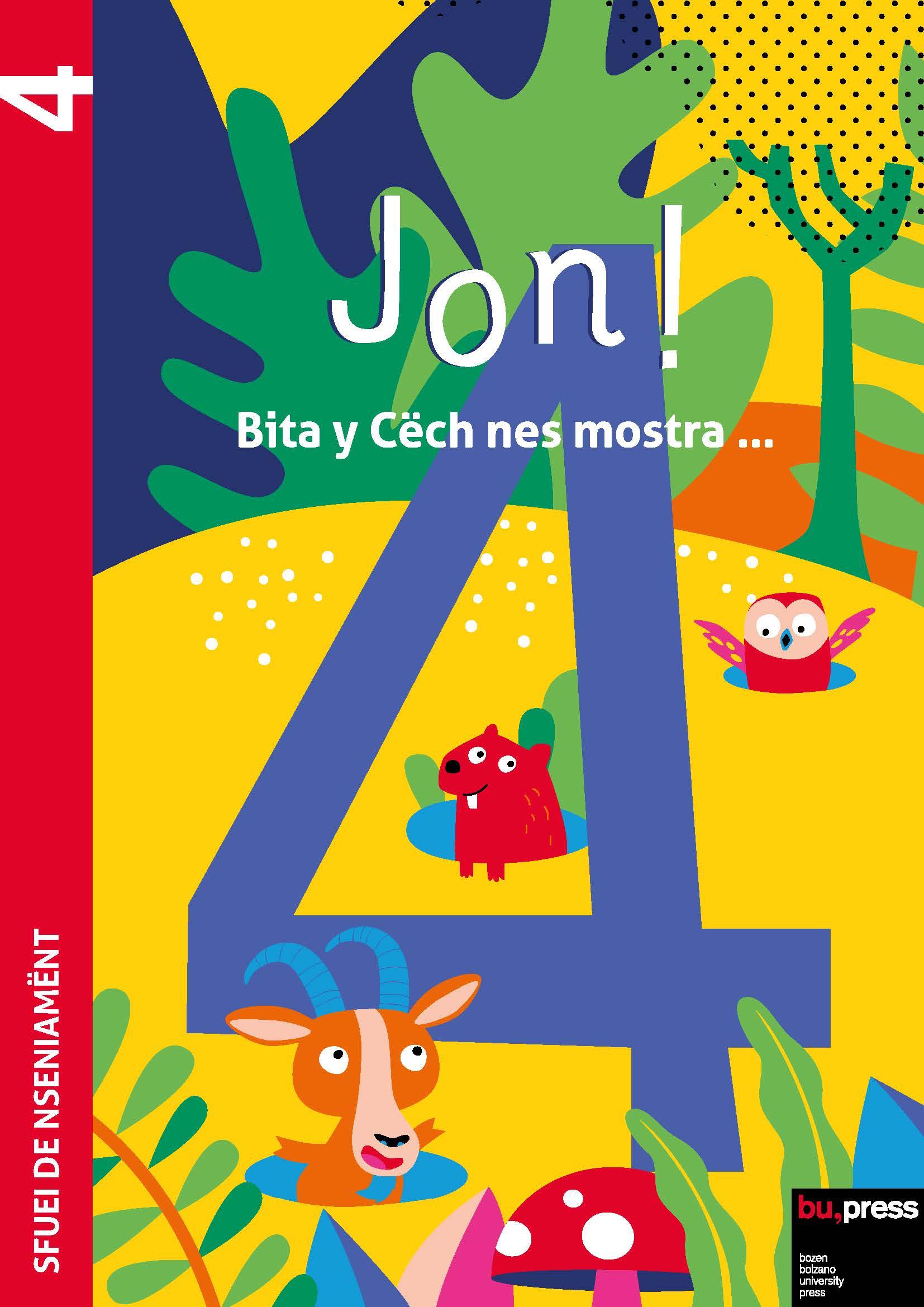 Cover of Jon! 4 – Sfuei de nseniamënt