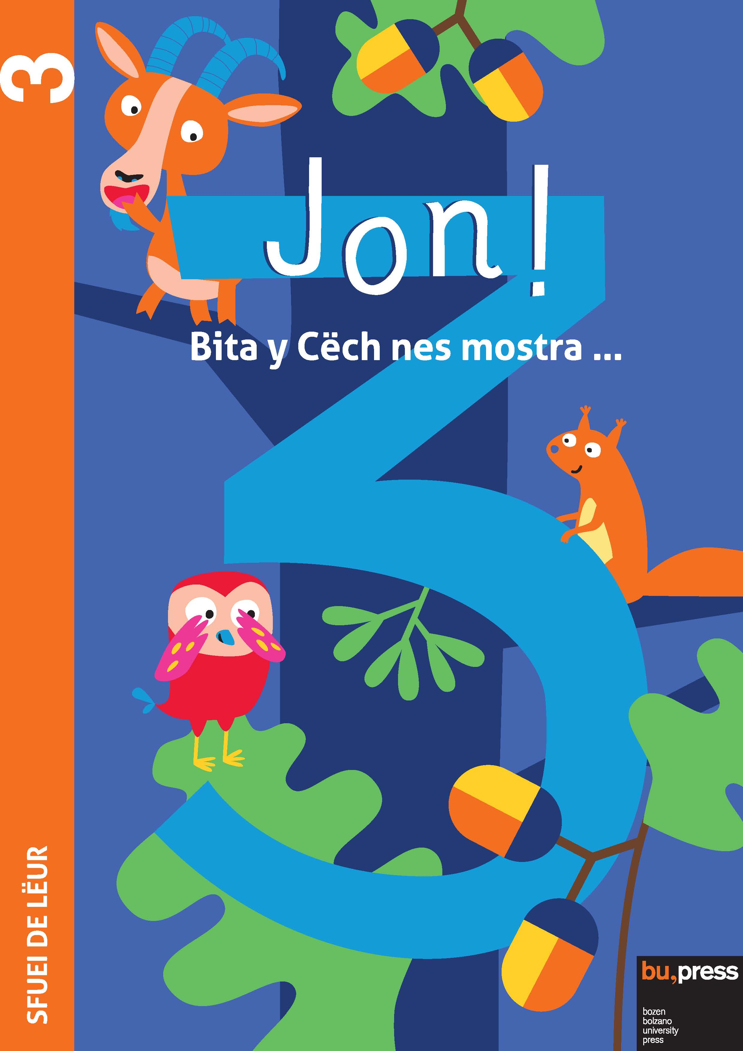 Cover of Jon! 3 – Sfuei de lëur