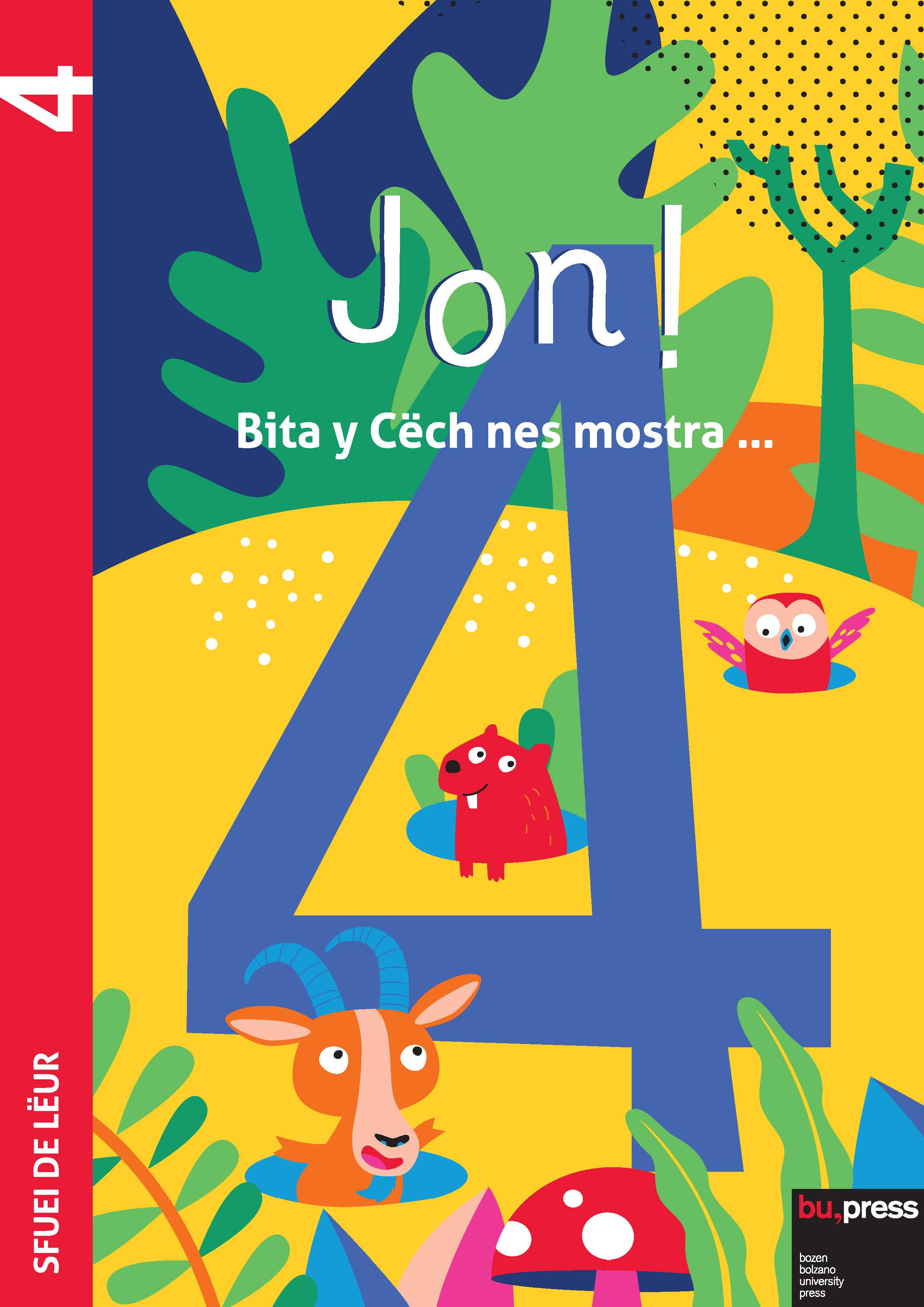 Cover of Jon! 4 – Sfuei de lëur