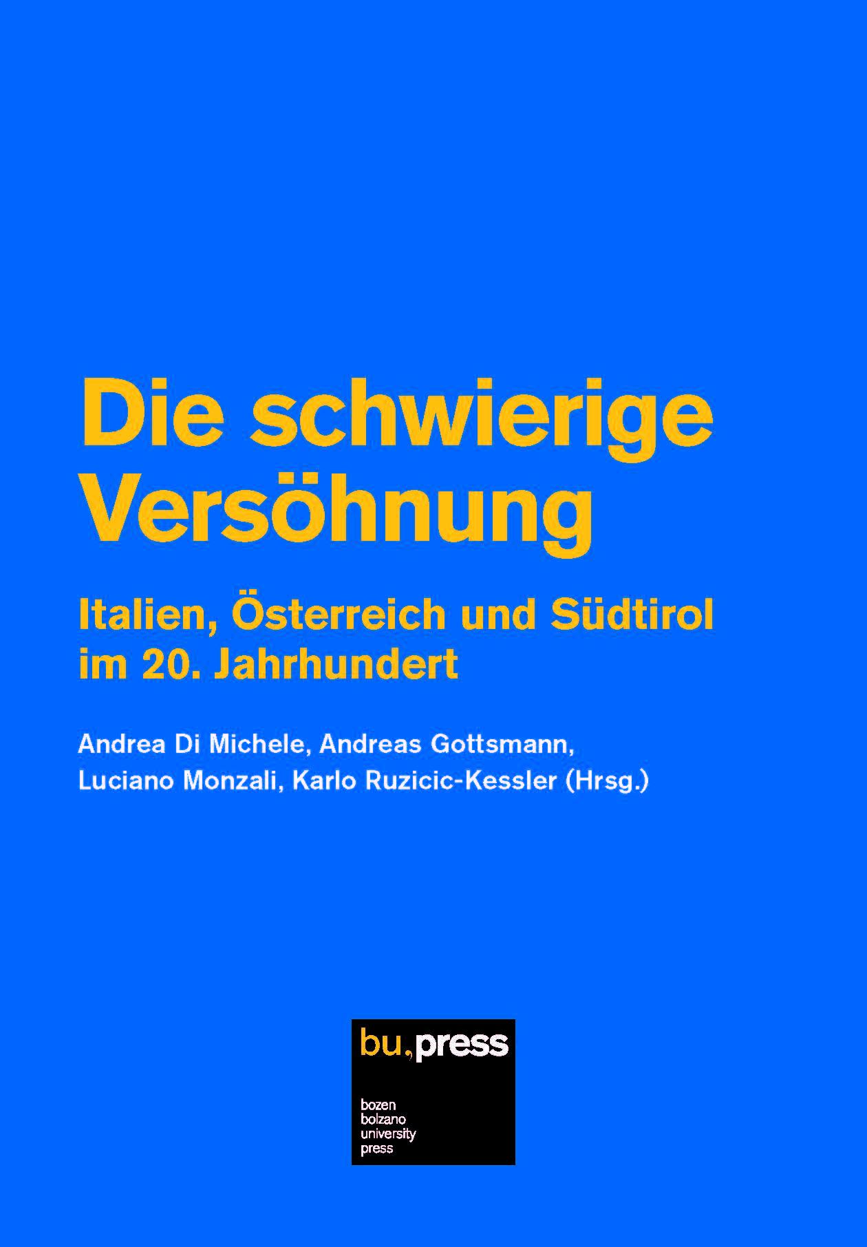 Cover of Die schwierige Versöhnung