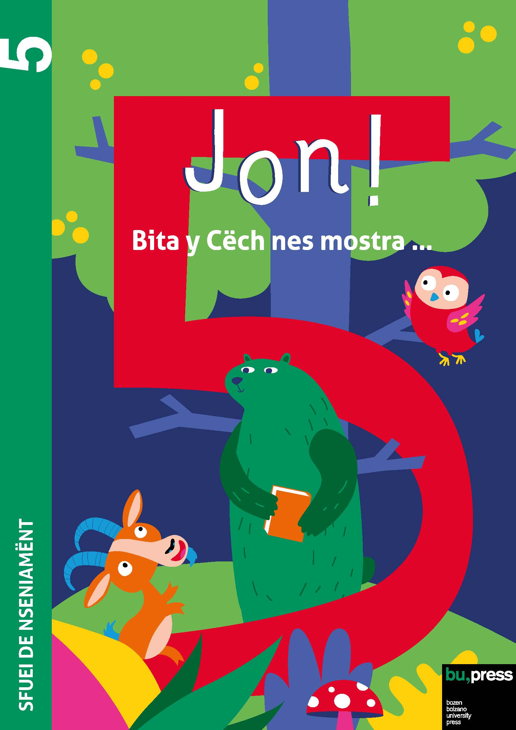 Cover of Jon! 5 – Sfuei de nseniamënt