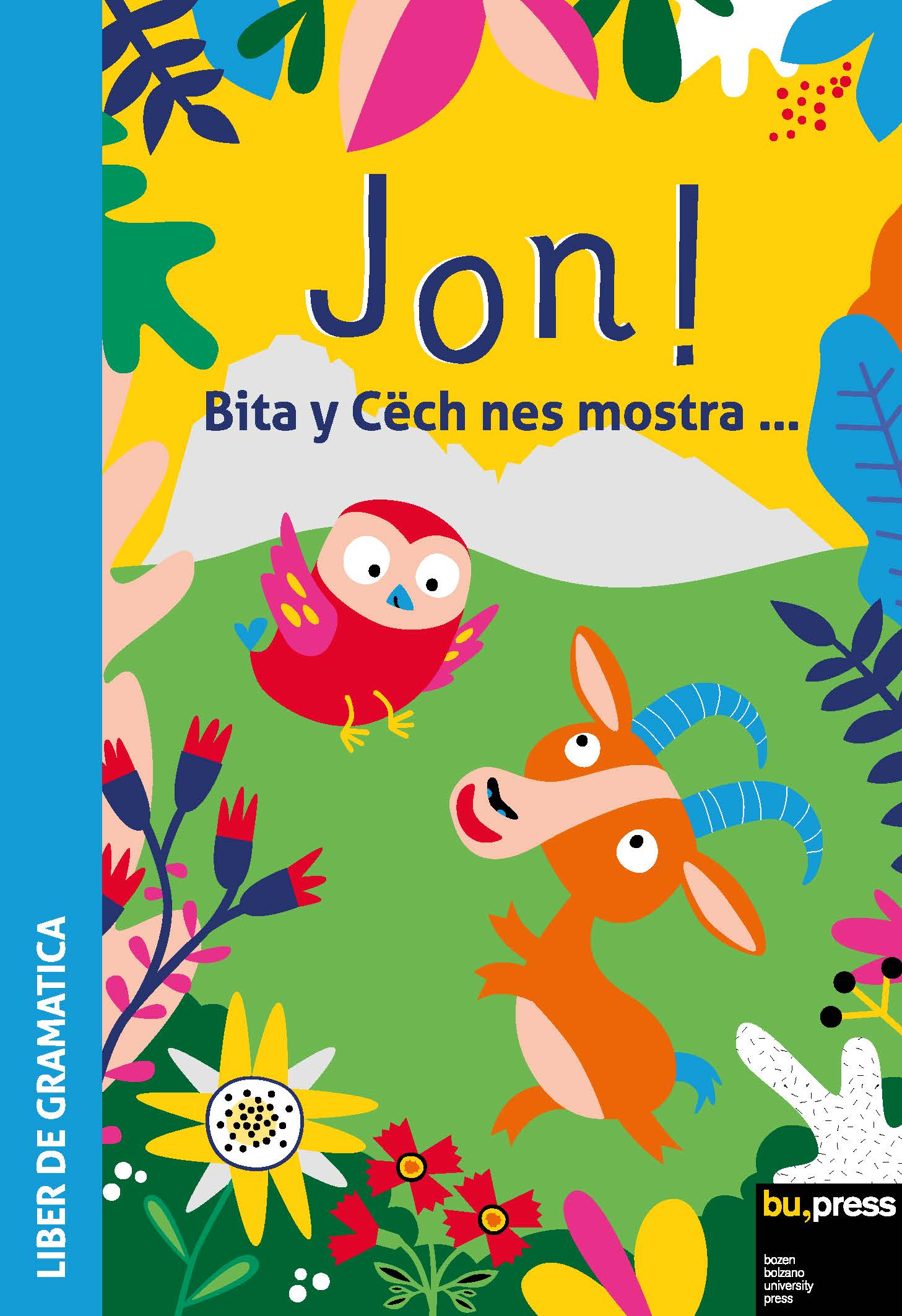 Cover of Jon! Liber de gramatica