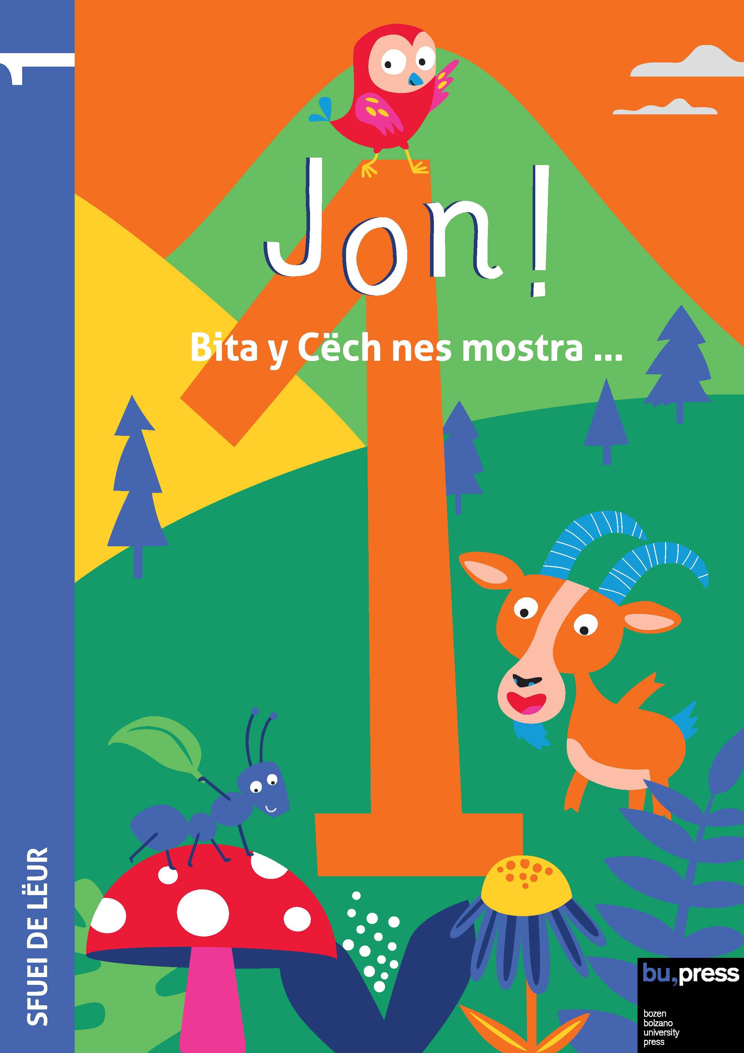 Cover of Jon! 1 – Sfuei de lëur