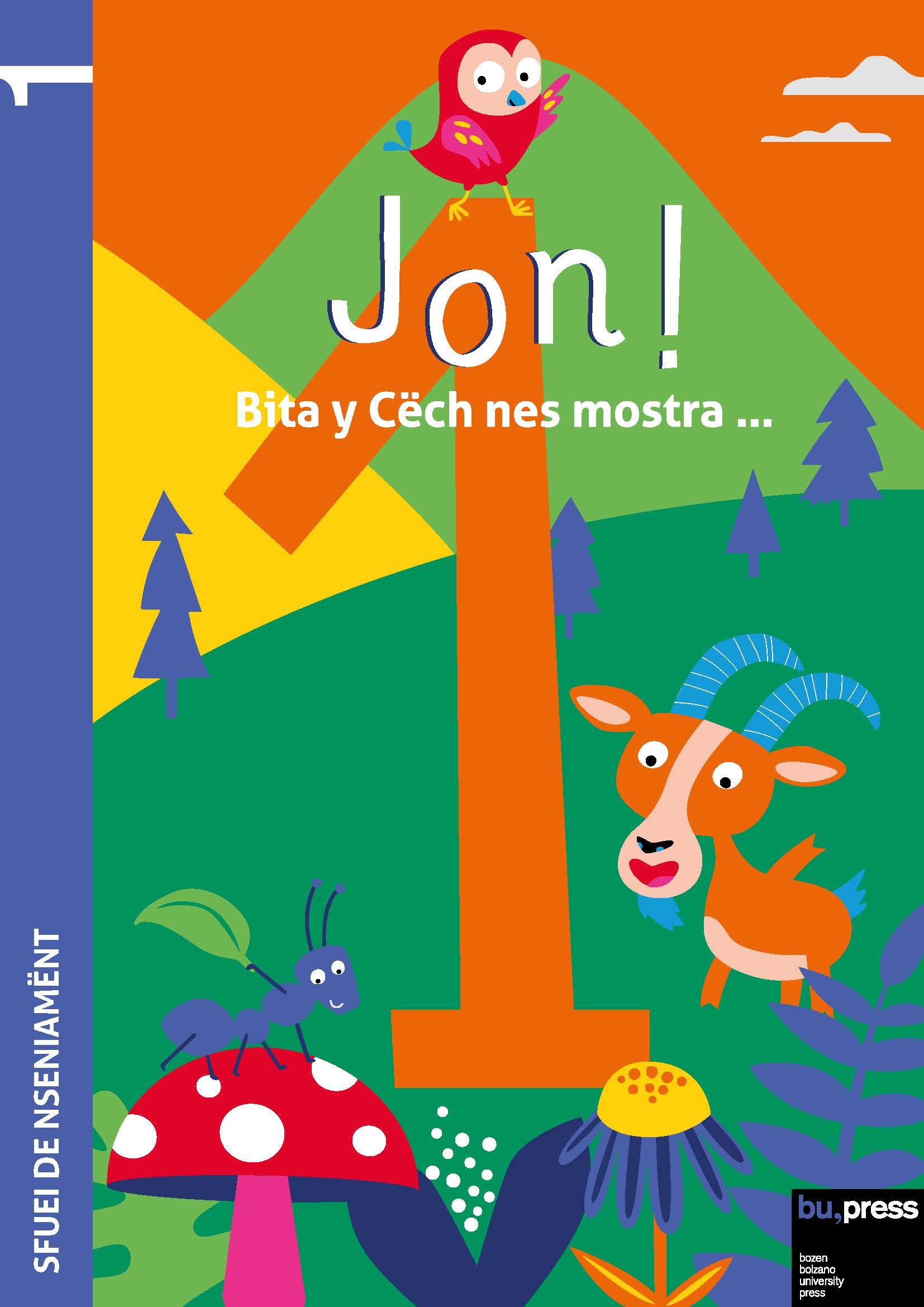 Cover of Jon! 1 – Sfuei de nseniamënt