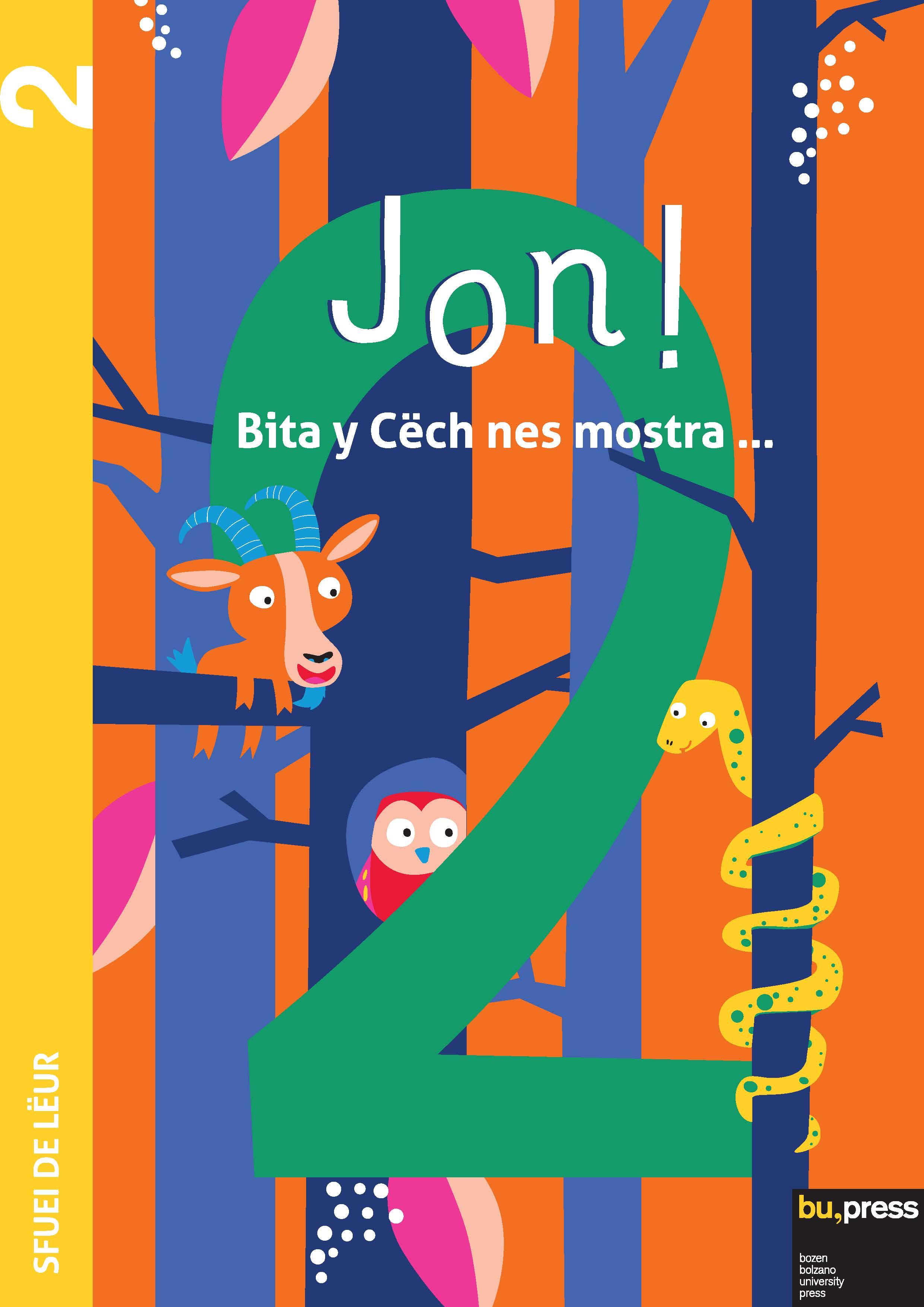 Cover of Jon! 2 – Sfuei de lëur