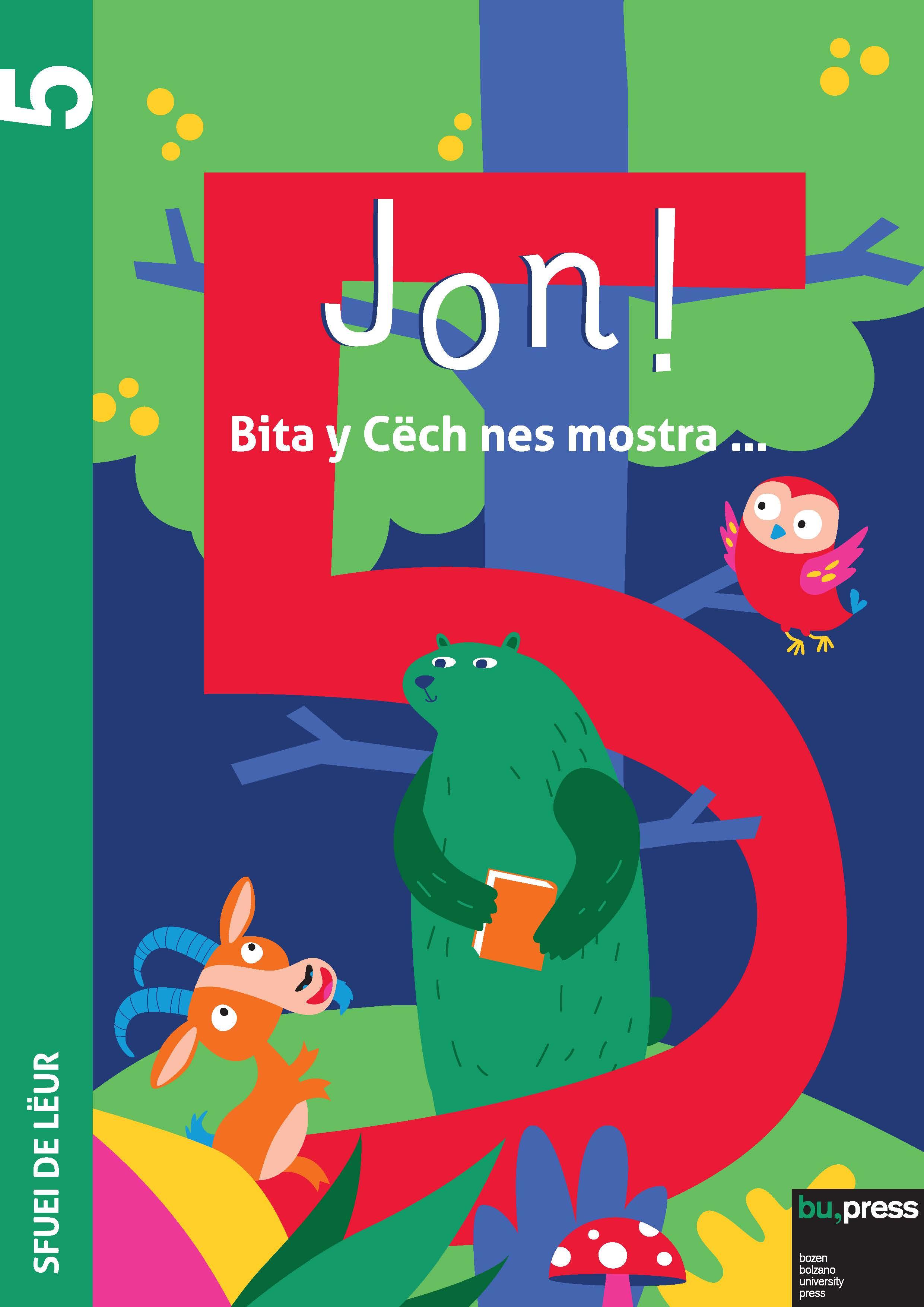 Cover of Jon! 5 – Sfuei de lëur