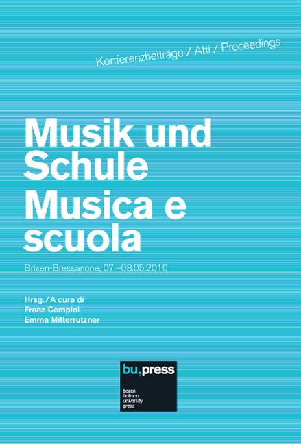 Cover of Musik und Schule/Musica e scuola
