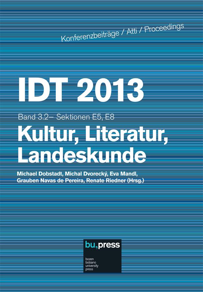 Cover of IDT 2013/3/2 Kultur, Literatur, Landeskunde
