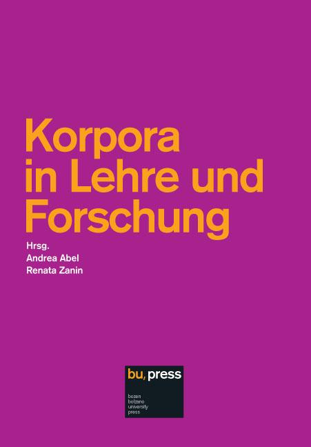 Cover of Korpora in Lehre und Forschung